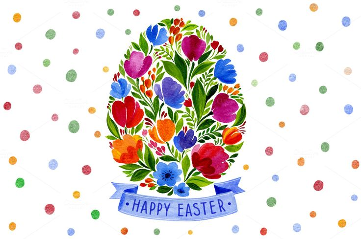 Cards Happy EASTER - Illustrations - 2
