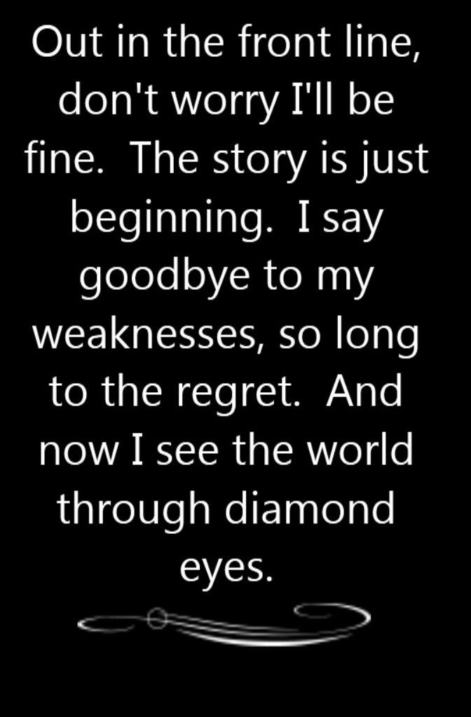Shinedown - Diamond Eyes - song lyrics, song quotes, songs, music lyrics, music quotes,