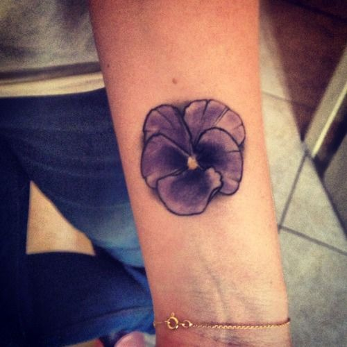 57 best violets tattoo images on pinterest violet tattoo african violet and arm tattoo. Black Bedroom Furniture Sets. Home Design Ideas
