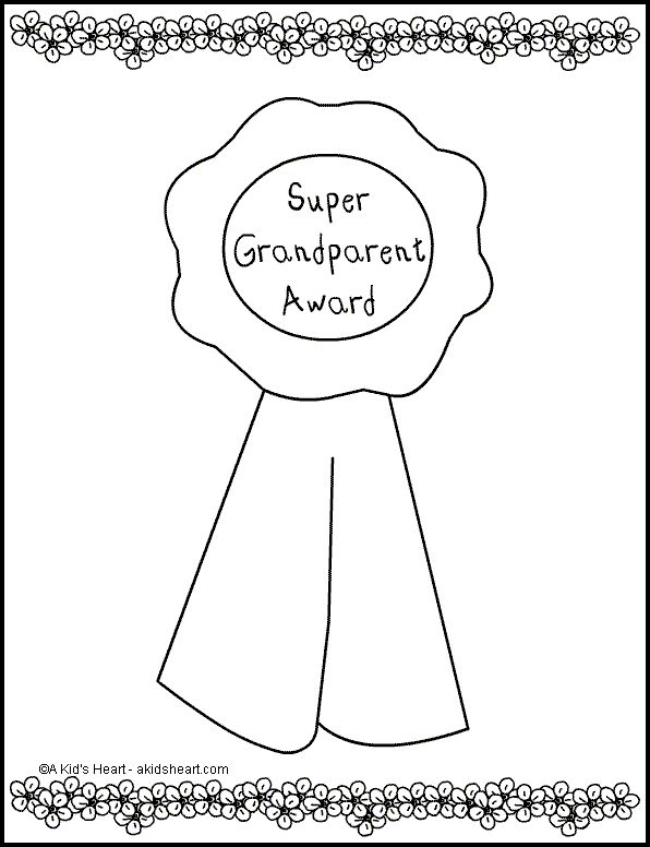 find this pin and more on grandparents day grandparent award coloring page