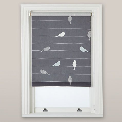 Buy John Lewis Bird on a Wire Daylight Roller Blind Online at johnlewis.com