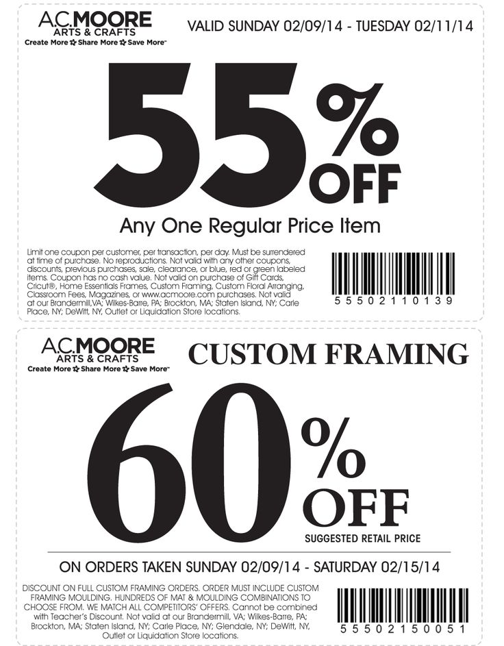 ac moore craft store. moore coupon \u0026 a. promo code from the coupons app. off a single item at ac craft store o