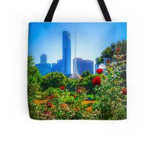 Red Roses in the Botanical Gardens - Melbourne, Victoria Tote Bag