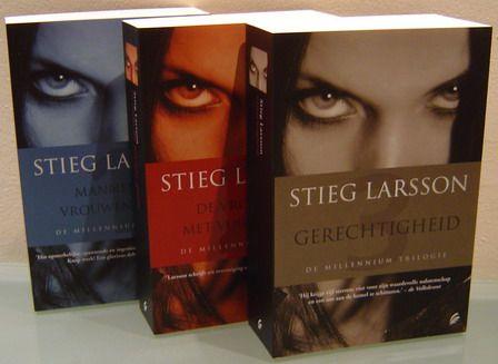 Stieg Larsson - Millenium Trilogie. Mannen die vrouwen haten. De vrouw die met vuur speelde. Gerechtigheid.