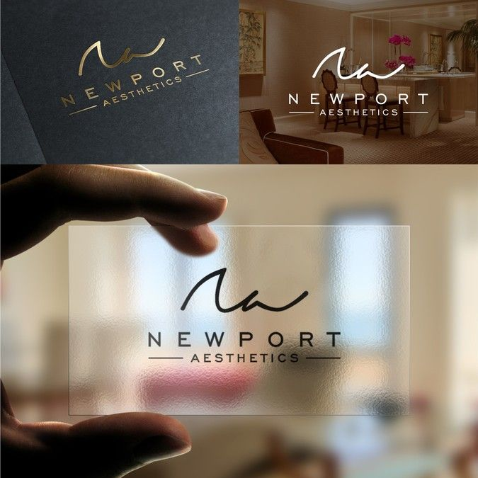 Create a catchy logo for a luxurious medical spa - Newport Aesthetics! by KTL