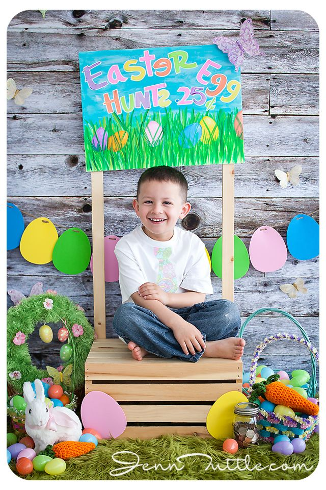 easter mini session props