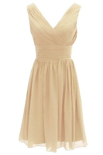 Dressystar Short Bridesmaid Dress Chiffon Party Evening Dress Champagne Size 6 Dressystar http://www.amazon.com/dp/B00GASFLN2/ref=cm_sw_r_pi_dp_ANjMtb1DGGBWH0G3