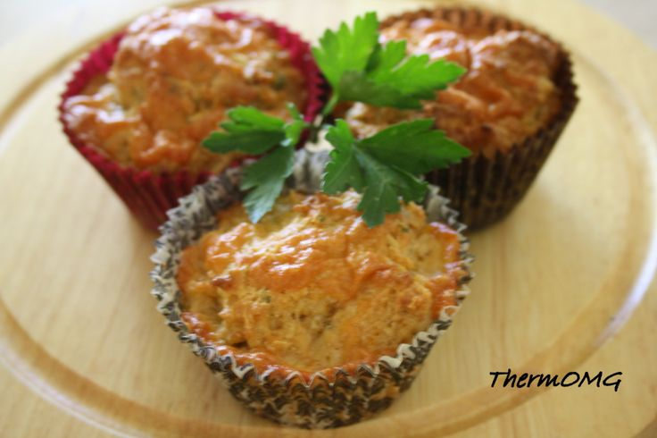 Sundried Tomato, Cheese and Onion Muffins