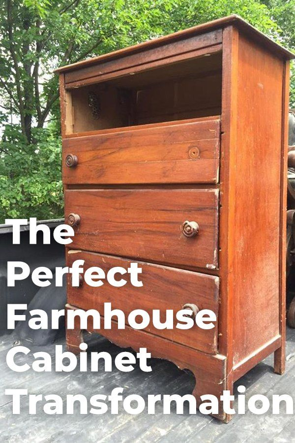 Diy Drawers Transformed To A Perfect Farmhouse Display