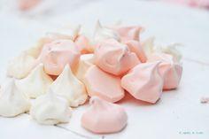 Cómo hacer besos de merengue