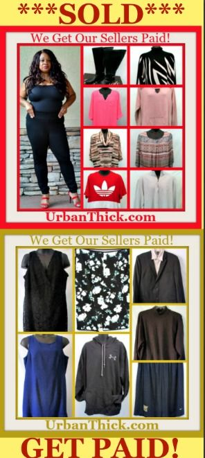UrbanThick.com clothing closet and #consignment store for #plussize women and #bigandtall men