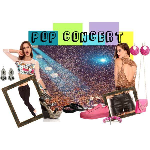 What to Wear to a Pop Concert Concert Outfit ideas I'm Haute