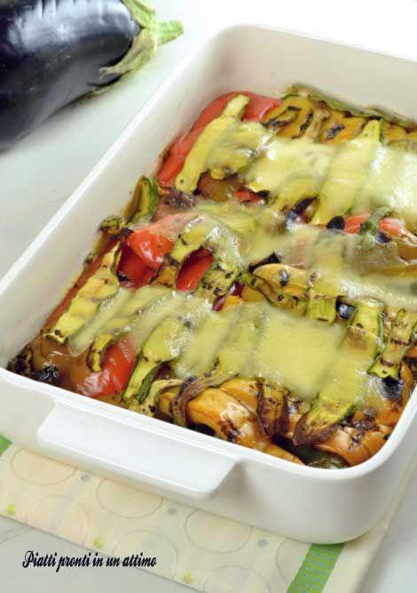 teglia di verdure al forno agosto