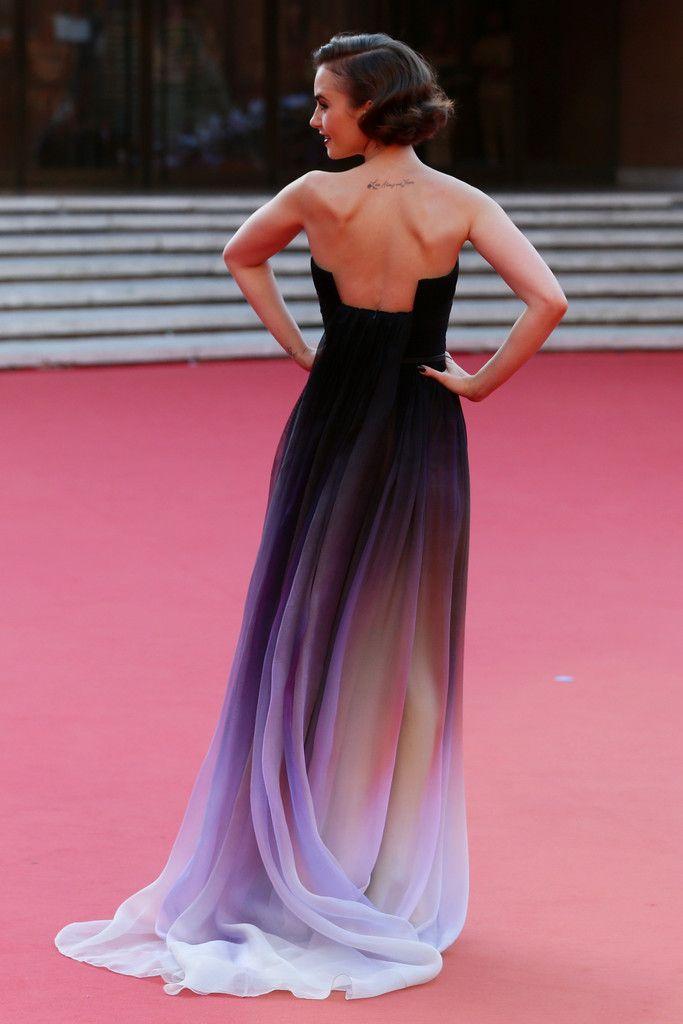Лили Коллинз на кинофестивале в Риме, 19 октября 2014