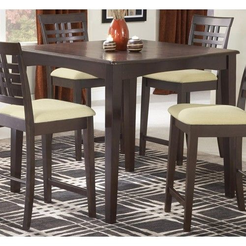 Hillsdale Tiburon 40 X Counter Fix Top Dining Table Furniture