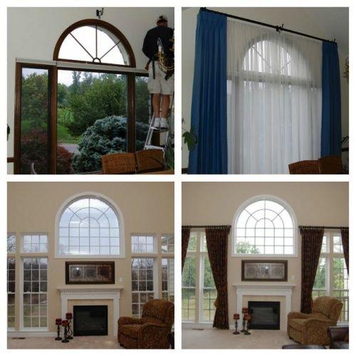 Half Hung Windows : Best ideas about half circle window on pinterest