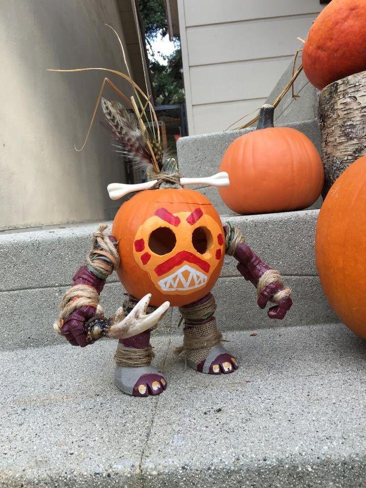 Moana kakamora pumpkin