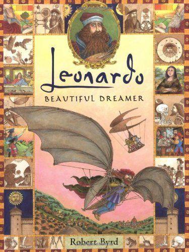 Leonardo: Beautiful Dreamer by Robert Byrd, http://www.amazon.com/dp/0525470336/ref=cm_sw_r_pi_dp_X3E2sb0D9A8SH