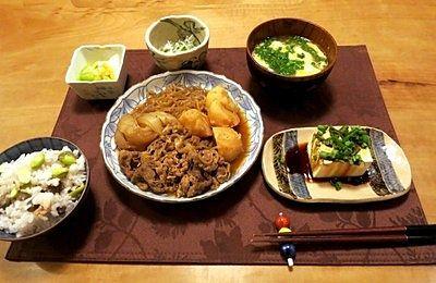 肉じゃがの献立レシピまとめ!ヘルシーな和食を楽しもう!