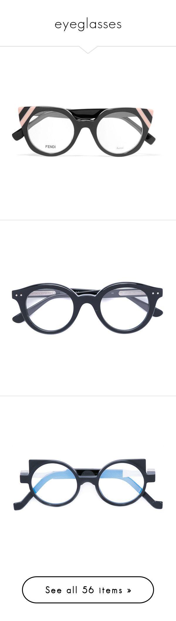 """eyeglasses"" by caterinabi ❤ liked on Polyvore featuring accessories, eyewear, eyeglasses, glasses, grey, cat eye glasses, acetate glasses, cat eye eyeglasses, fendi eyewear and acetate eyeglasses"
