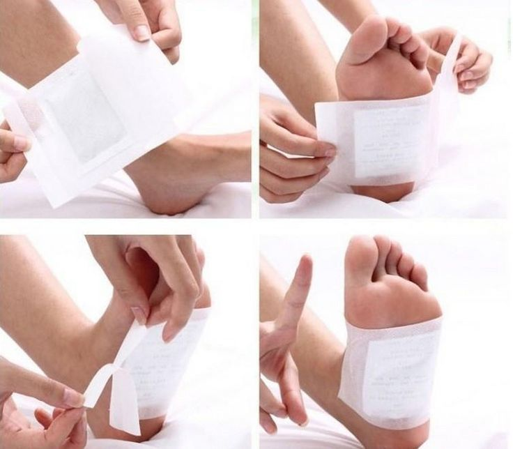 4 Pcs/lot Healthy Slimming Foot Patches with Adhesive Feet care Detox Bamboo Pads Maintain Beauty Exfoliating Slim Patch