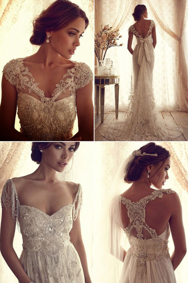 33 Vintage Inspired Wedding Dresses You Will Fall in Love With