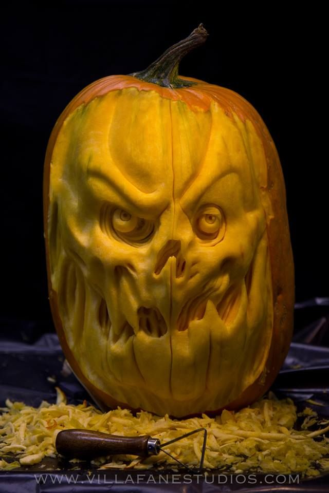 Best Pumpkin Horror Images On Pinterest Halloween Stuff - Mind blowing pumpkin carvings by ray villafane 2