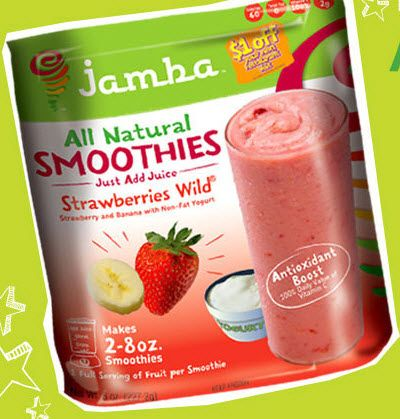 Jamba Juice At Home Smoothie Kits Product Review #smoothie #fruitsmoothie