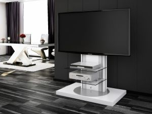 nowoczesny stolik rtv, szafka na telewizor, ROMA, hubertus,