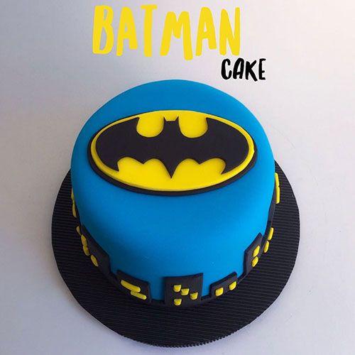 torta batman envigado dulcepastel
