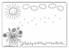 Pracovný list - púpavové semienka