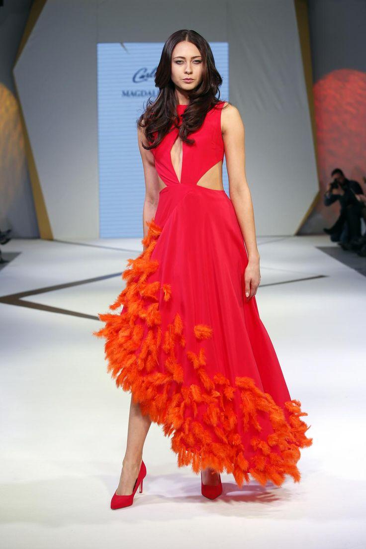 #Magdalena Popiel, sukienka zaprojektowana dla #Carlo Rossi, #New LOOK Design Refresh