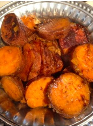 Easy Sweet Potato Recipe made in the slow cooker! Healthier choice recipe!