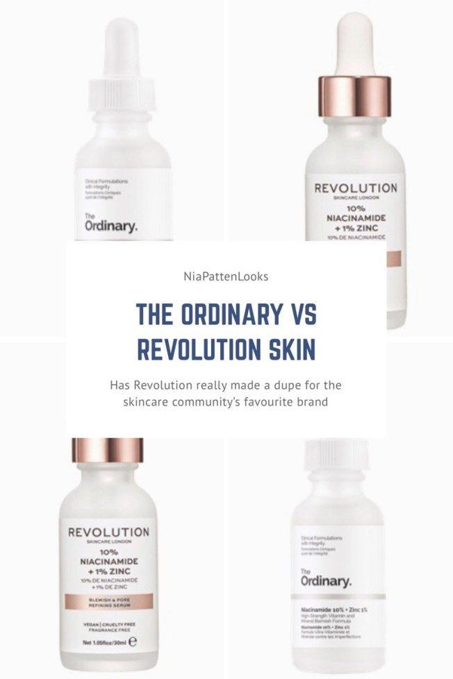 Revolution Skin Vs The Ordinary Are They Really Dupes Organic Skin Care Organic Skin Care Routine Skin Care