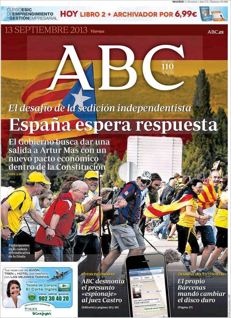 Book Cover Portadas Diarios : Best septiembre principales titulares portadas