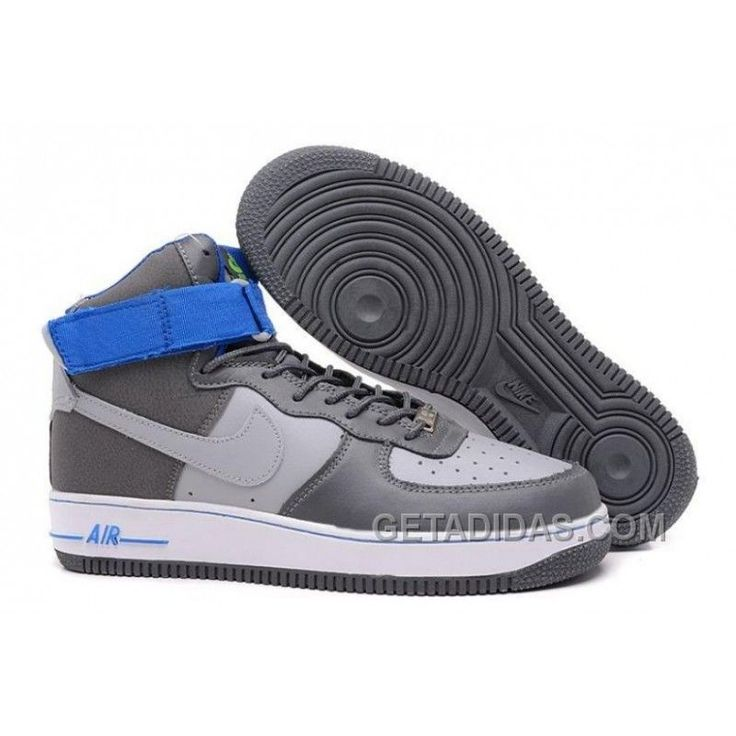 Nike Air Force 1 Mid Grey/Blue/White Shoes Top Deals, Price: $54.67 - Adidas Shoes,Adidas Nmd,Superstar,Originals|GetAdidas