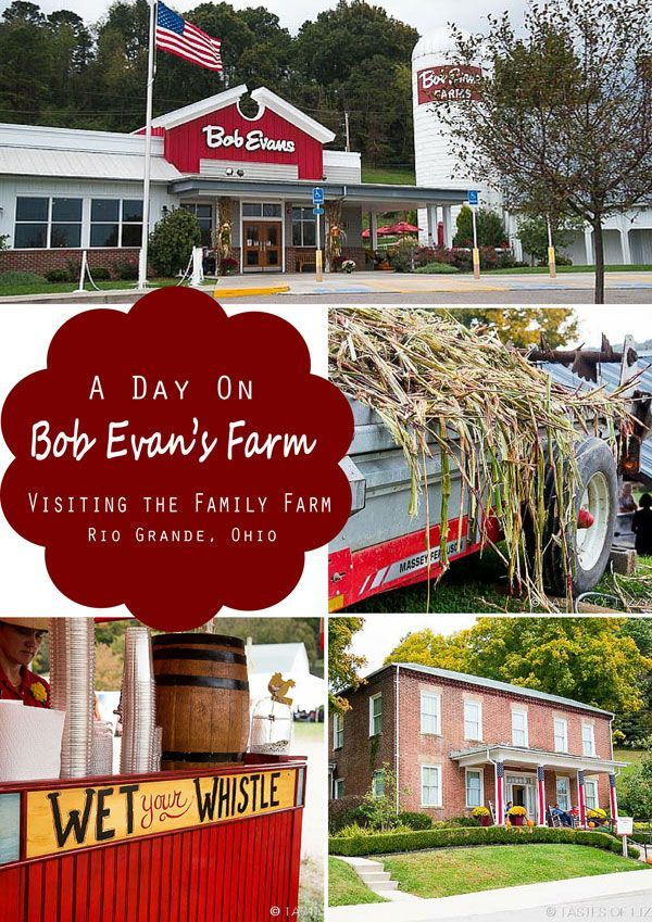 Take the family to visit one of Ohio's best kept secrets; Bob Evans Farm in Rio Grande, Ohio. The original home of Bob and Jewell Evans is full of history, beauty, and fun for the whole family!