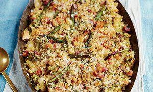 Pasta al forno con asparagi, pancetta e provola As the Romans Do by Eleonora Galasso