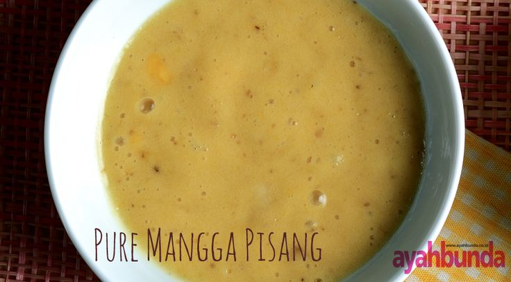 Pure Mangga Pisang :: Klik link di atas untuk mengetahui resep pure mangga pisang