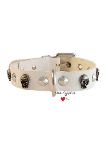 Collare per Cani in Cuoio con Borchie a Cono e a forma di Teschio.Real Cowhide Dog Collar with Cone-shaped and Skull-shaped Studs. #cmlovepets #dogaccessories #luxurypet #animallovers #pets #petlovers #petslovers #petslove #petslover #doglove #doglovers #accessoripercani #accessorilussopercani #petsaccessories #petsaccessory #cani #dog #dogs #luxurydogaccessories #modacani #lussopercani #lussocani #madeinitaly #fashiondogs #collaricuoio #cowhidedogcollars #skullsdogcollar #collareteschi