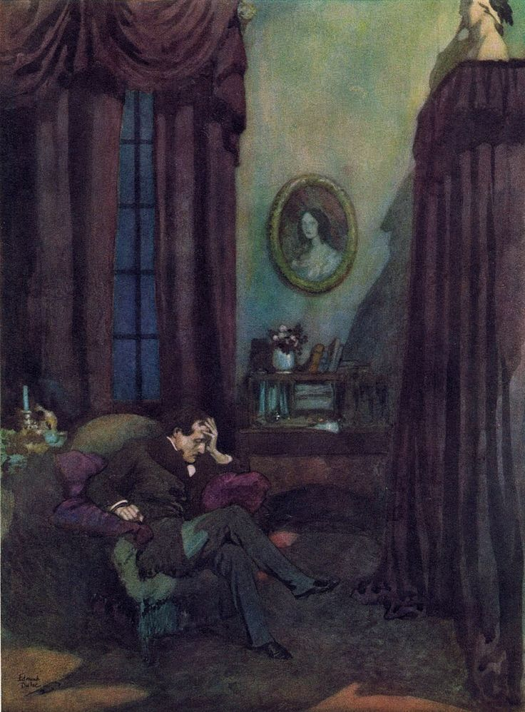 """the raven e a poe In december 2016, neil gaiman did his part for worldbuilders charity with an  atmospheric reading of edgar allan poe's classic poem, """"the."""