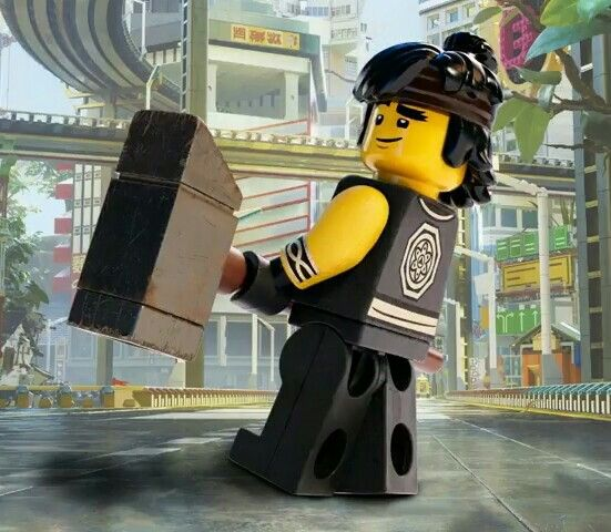 Cole The Lego Ninjago Movie... The movie was straight up trash. You can't call yourself a Spinner unless you think that this movie was trash... ❤
