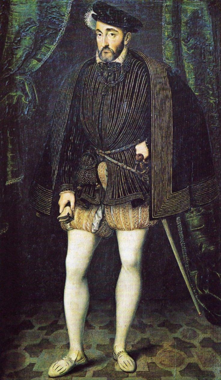 Генрих II 1547—1559. Мастерская Франсуа Клуэ