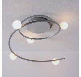 Bopp Leuchten LED-Deckenleuchte Loop 5-flammig