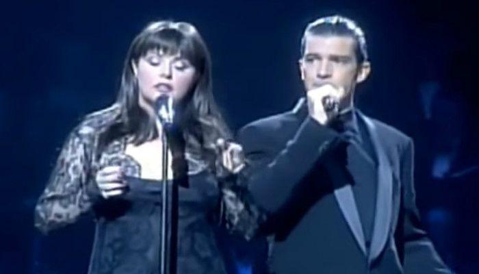 От этой песни мурашки по всему телу! Антонио Бандерас и Сара Брайтман — «Призрак оперы»