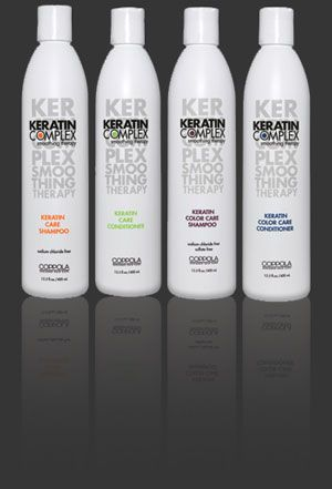 Keratin Complex Shampoo & Conditioner: Sulfate & Sodium Chloride Free, Geared towards smoothing & repairing the hair <3 <3