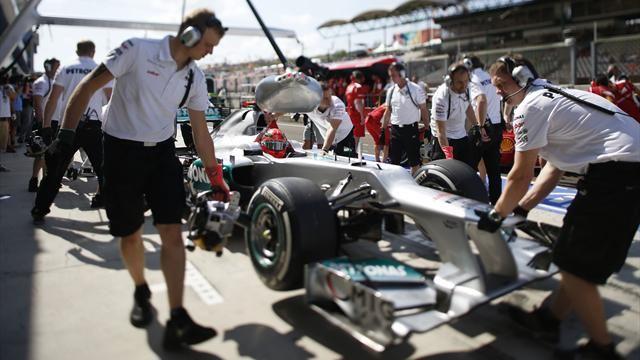 Mercedes dans l'impasse-Formule 1-Grand Prix de Hongrie