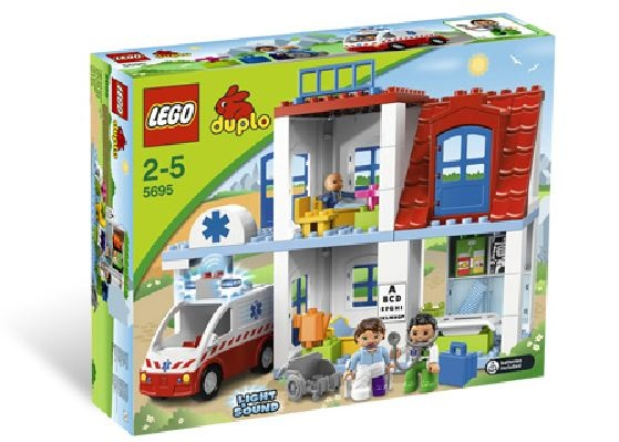 #Lego #Duplo_Doctors_Clinic