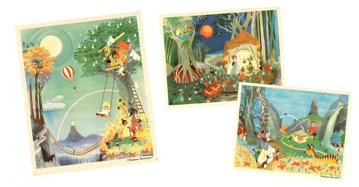 Moomin.com - Rarely seen Moomin illustrations by Tove Jansson