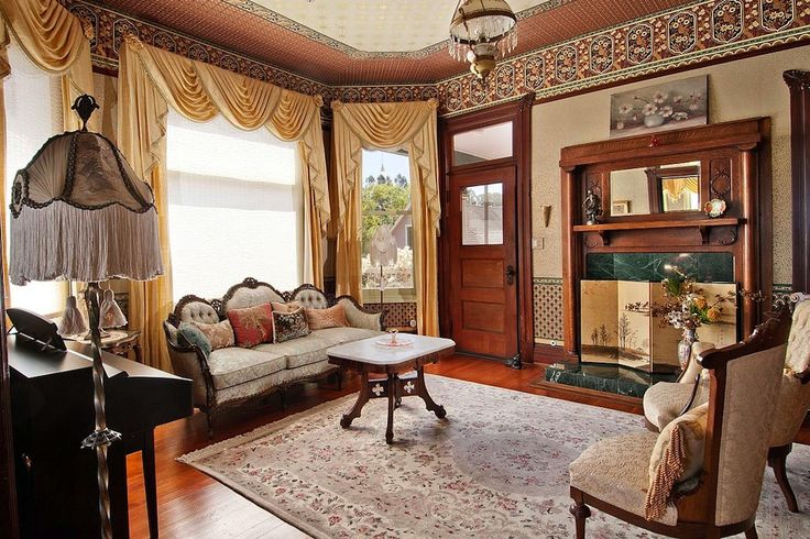 I Love This Victorian Parlor In An 1898 House The Parlor